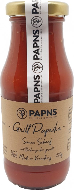Grill Paprika Sauce 220g