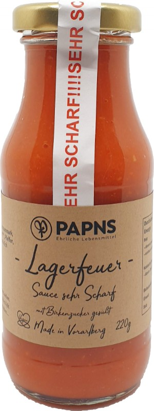 Lagerfeuer Sauce 220g
